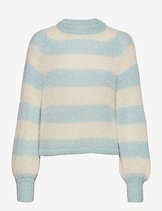 Laki - trøjer - creme/blue