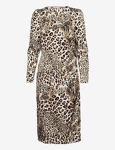 Bitten - cocktail-kjoler - leopard