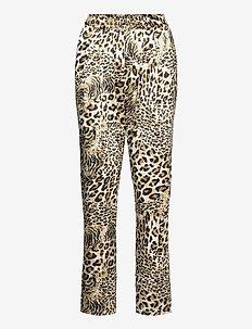 Mendi - casual trousers - leopard