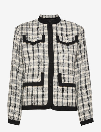 Benete - casual blazers - black and white