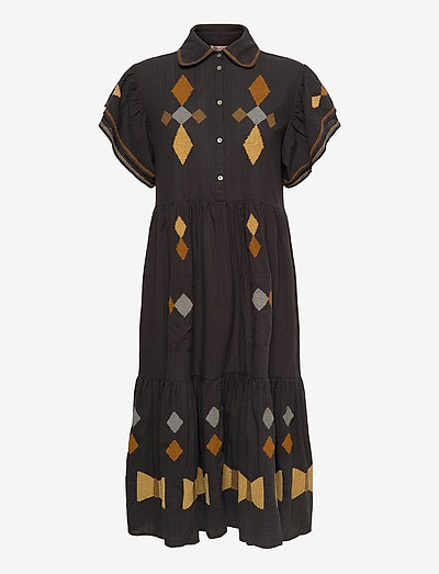 Ranya - everyday dresses - dark natural