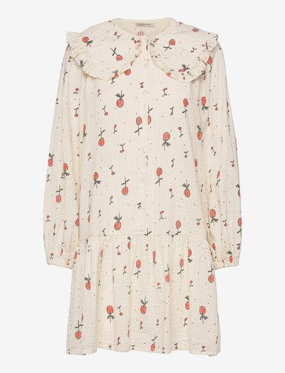 Sassi May - everyday dresses - creme cherries