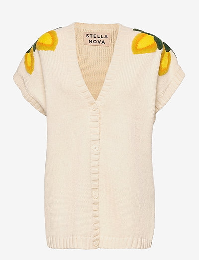 Maily - knitted vests - creme