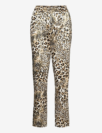 Mendi - casual trousers - leopard
