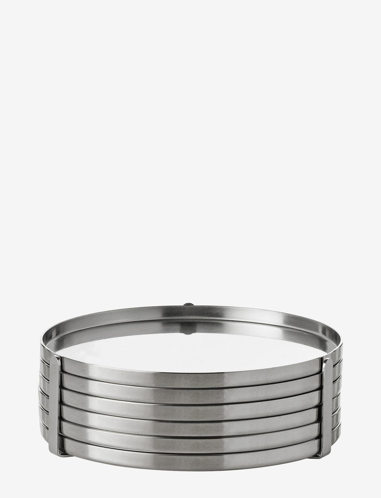 Stelton - AJ coaster - 6 pcs - steel - 0