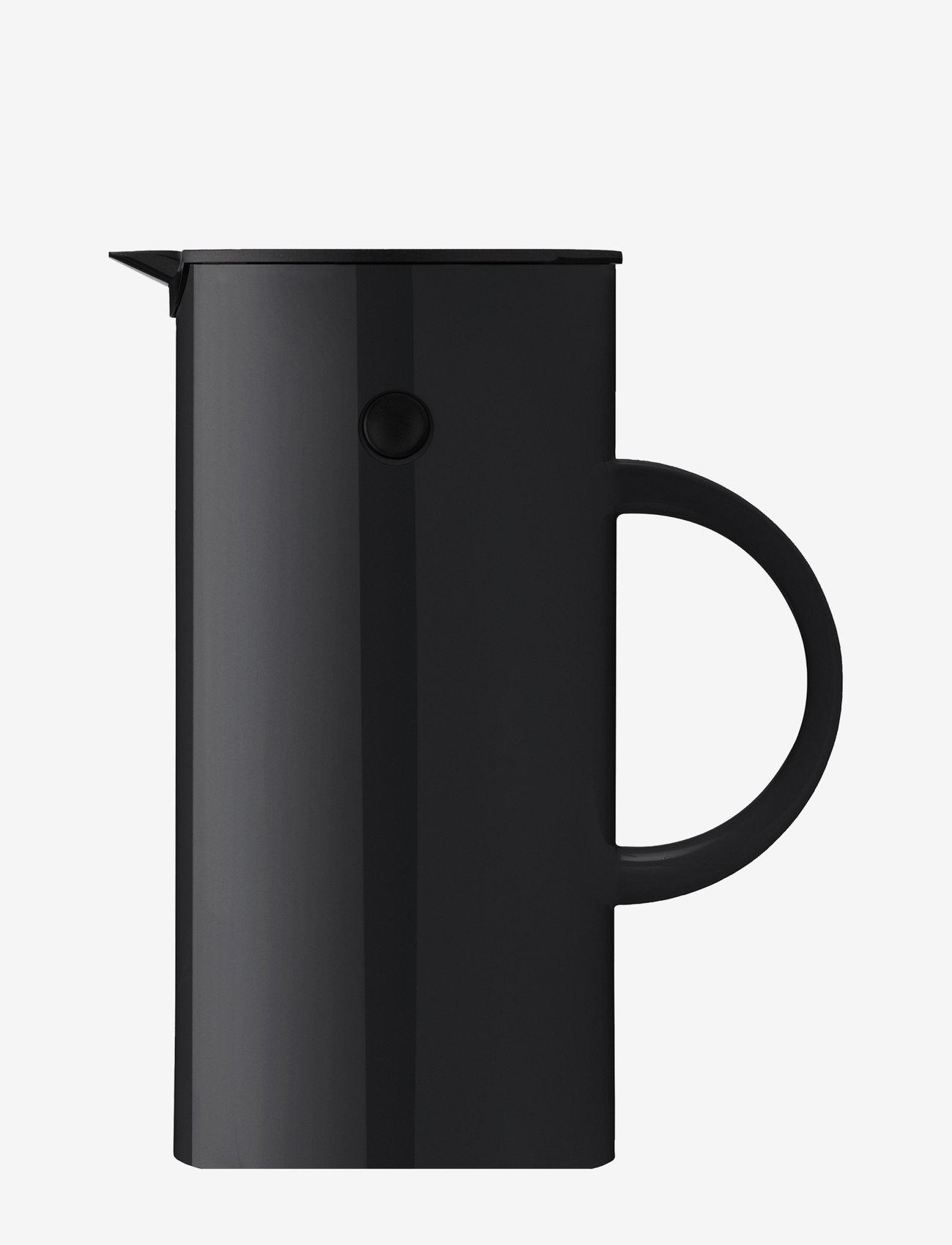 Stelton - EM77 vacuum jug, 0.5 l. - vesikannut ja -karahvit - black - 0