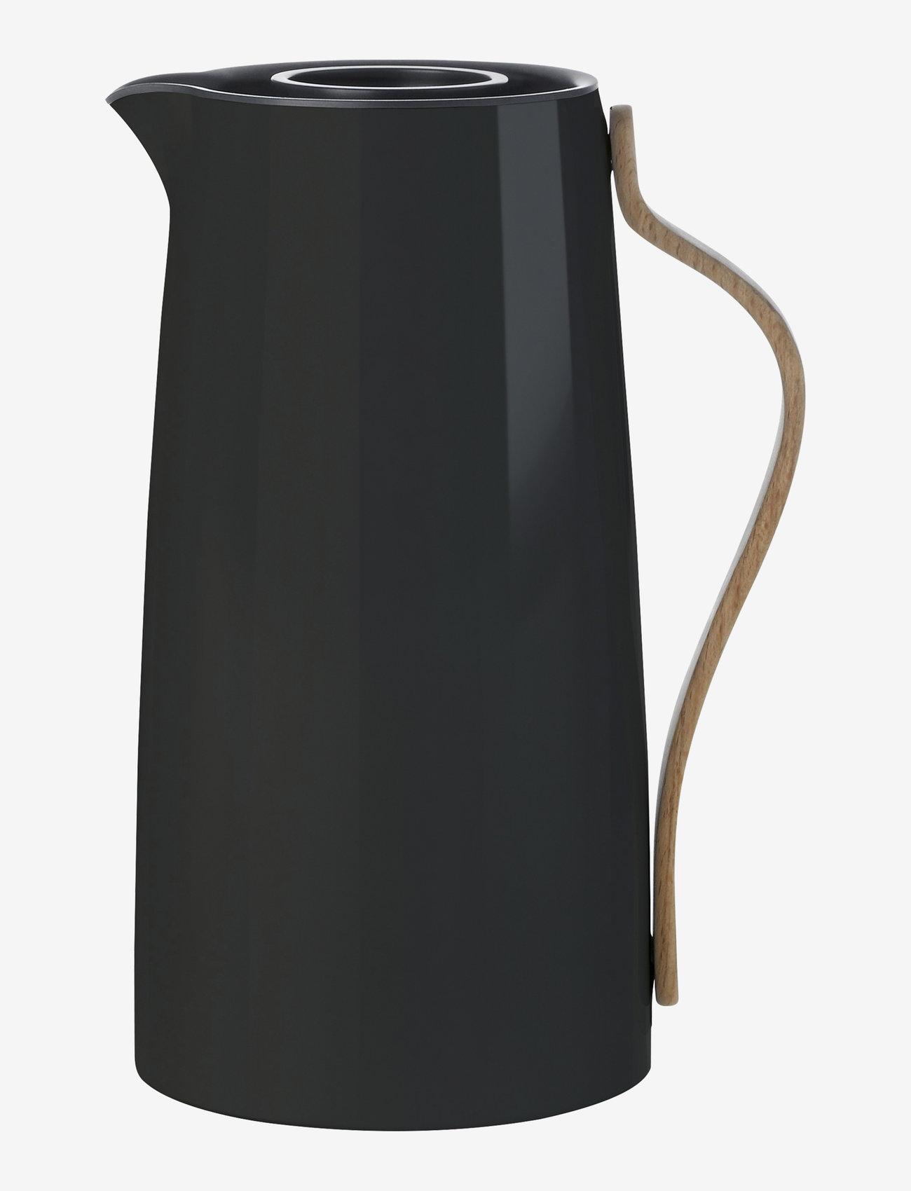 Stelton - Emma vacuum jug, coffee - 1.2 l. - vesikannut ja -karahvit - black - 0
