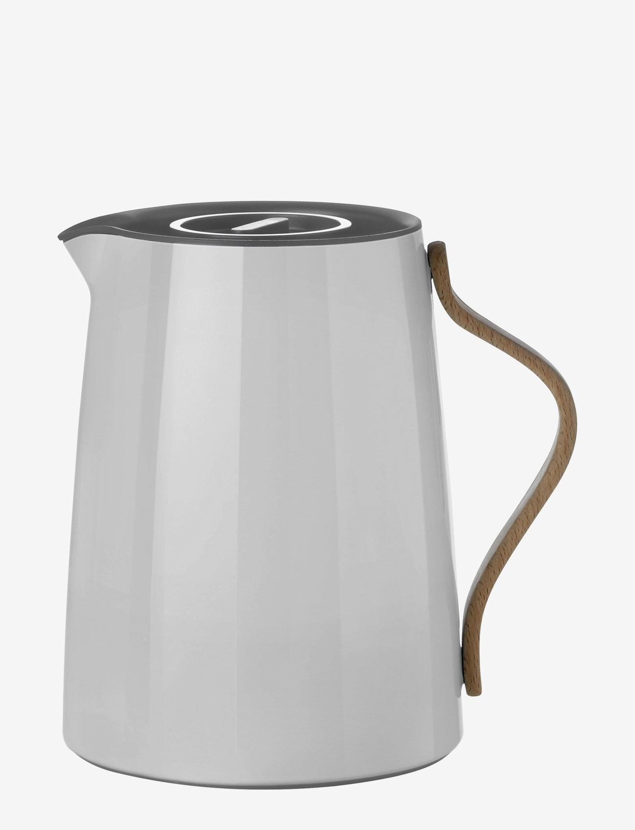 Stelton - Emma vacuum jug, tea - 1 l. - kannut & karahvit - grey - 1