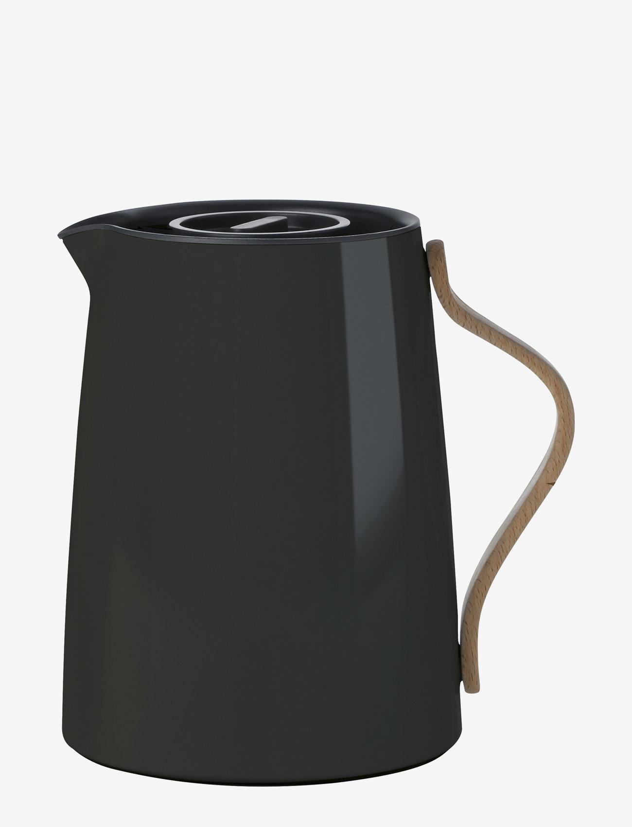 Stelton - Emma vacuum jug, tea - 1 l. - kannut & karahvit - black - 1