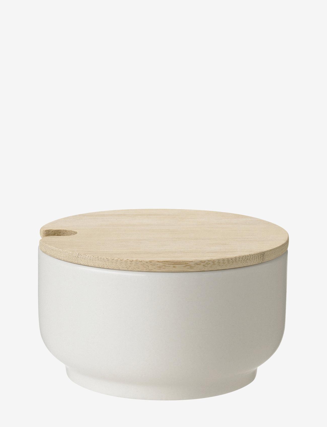Stelton - Theo sugar bowl, 0.1 l. - sokerikulhot - sand - 0