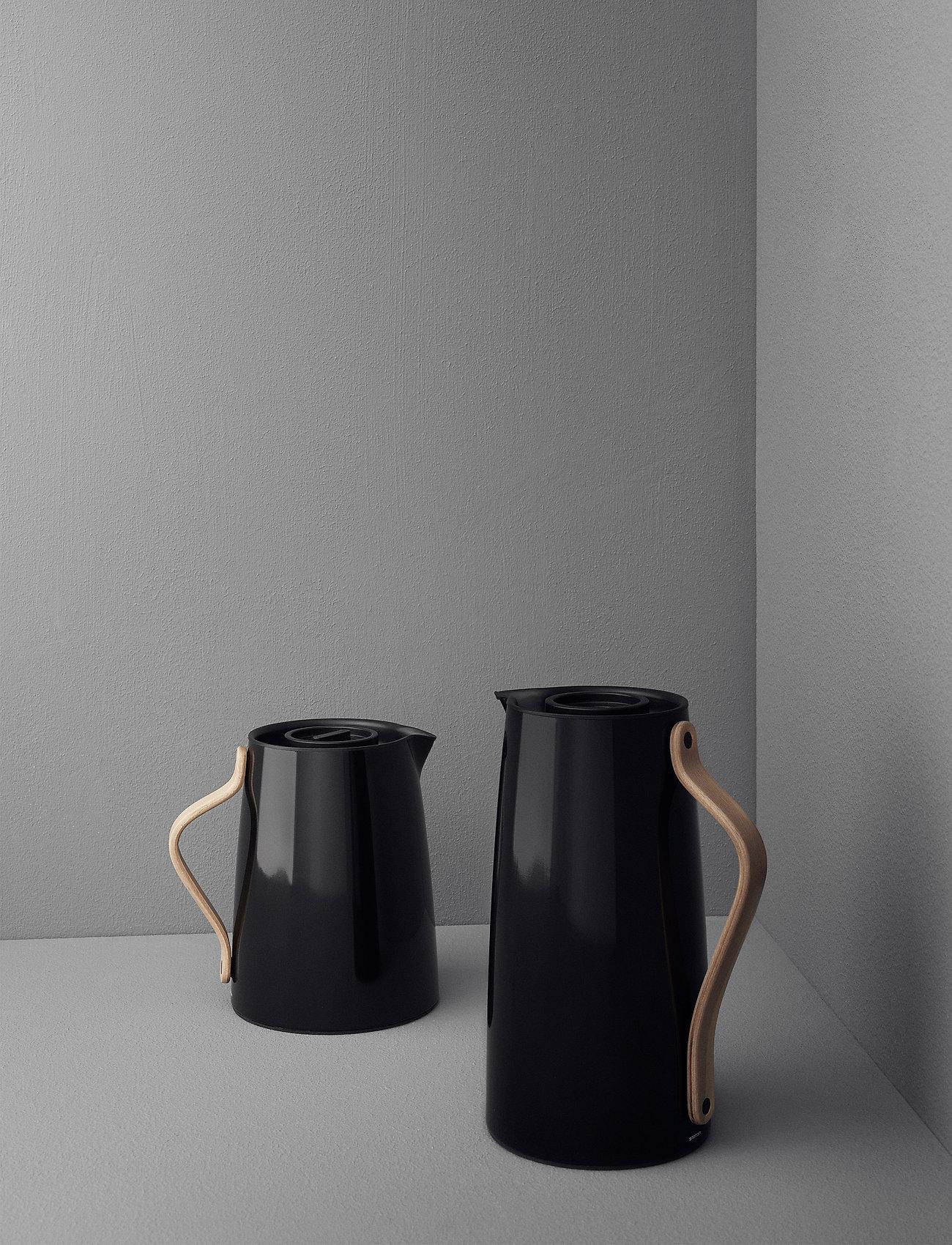 Stelton - Emma vacuum jug, coffee - 1.2 l. - vesikannut ja -karahvit - black - 1