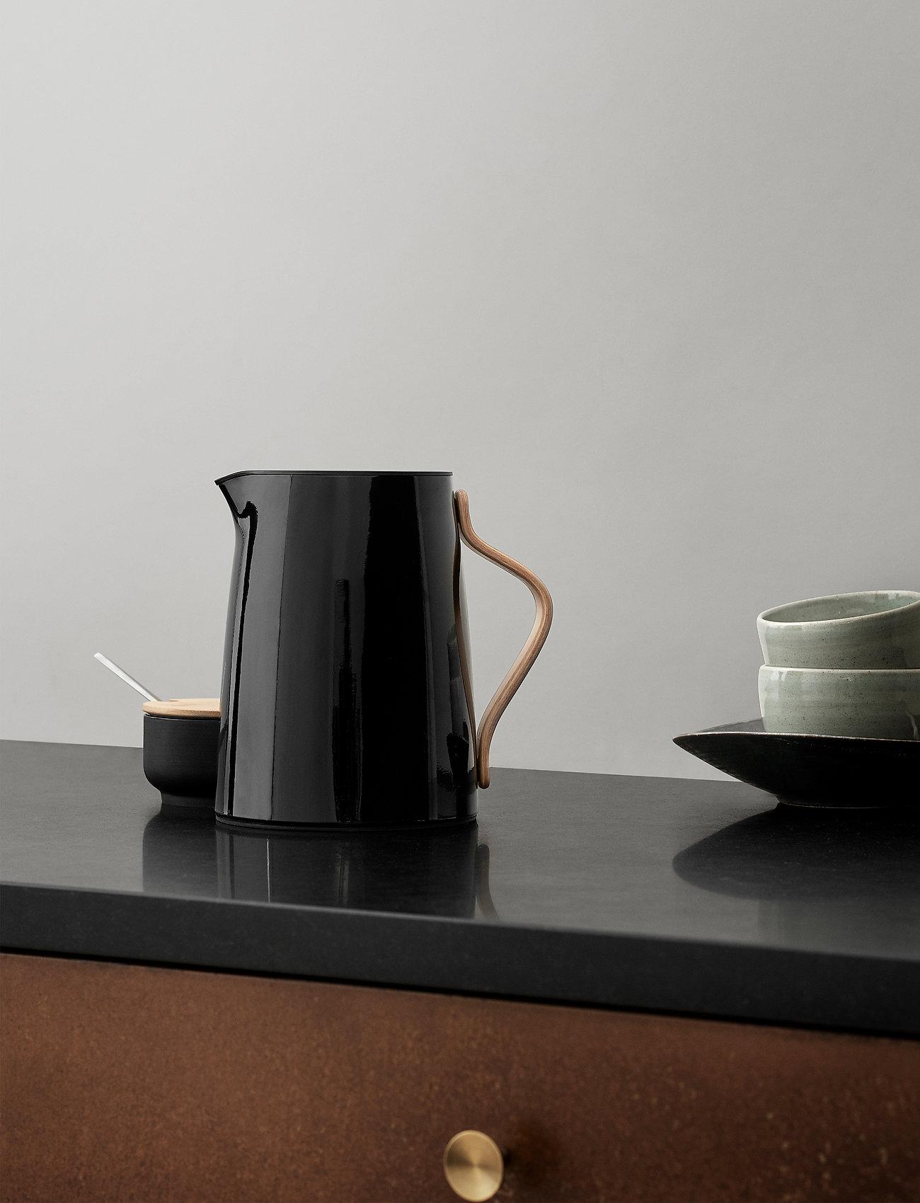 Stelton - Emma vacuum jug, tea - 1 l. - kannut & karahvit - black - 0