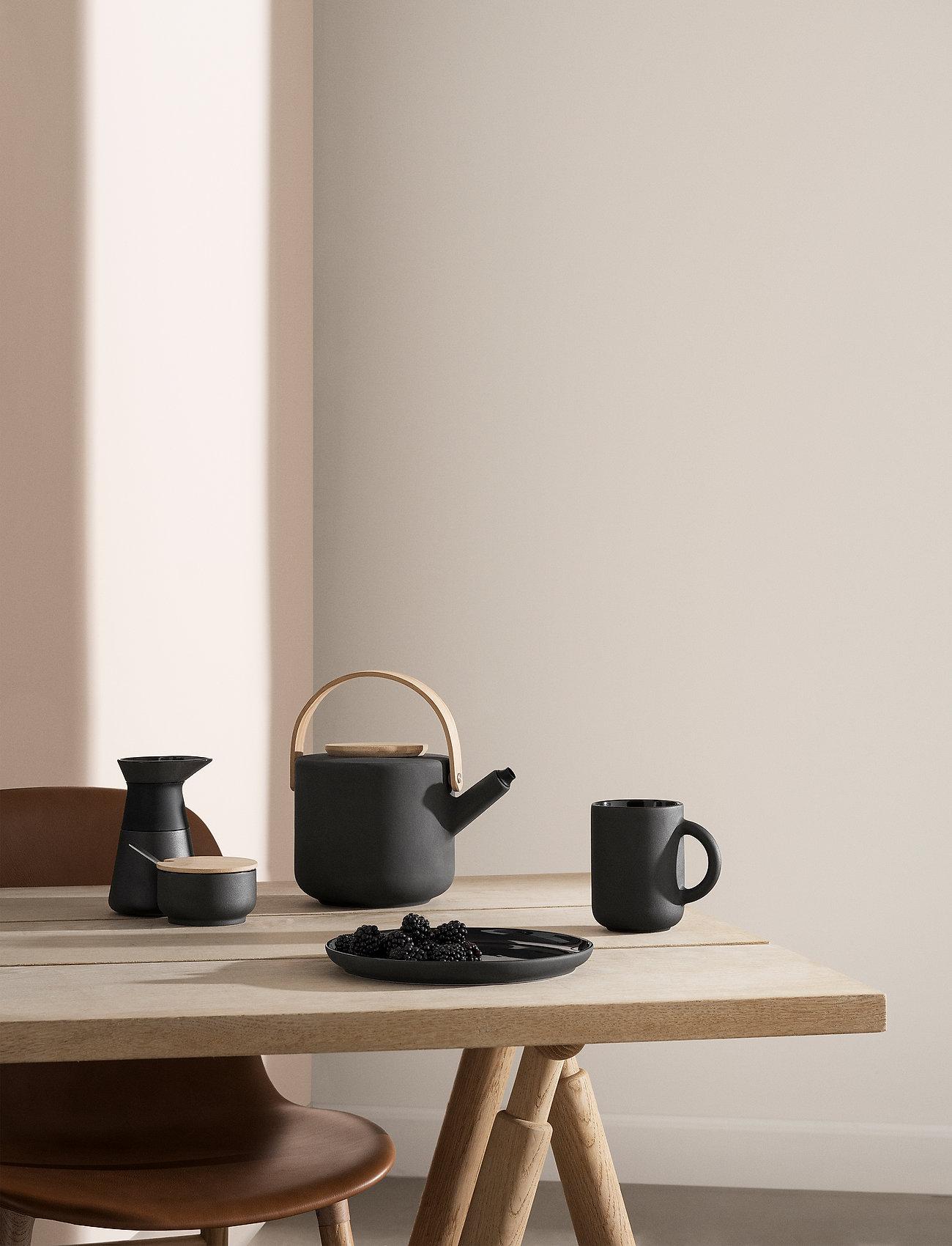 Stelton - Theo sugar bowl - 0.1 l. - sokerikulhot - black - 1