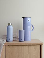 Stelton - Keep Cool vacuum drinking bottle, 0.6 l. - vesi- ja lasipullot - lupin/steel - 1