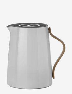 Emma vacuum jug, tea - 1 l. - kannut & karahvit - grey