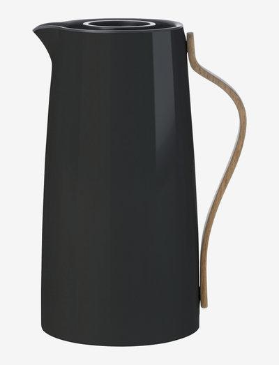 Emma vacuum jug, coffee - 1.2 l. - vesikannut ja -karahvit - black