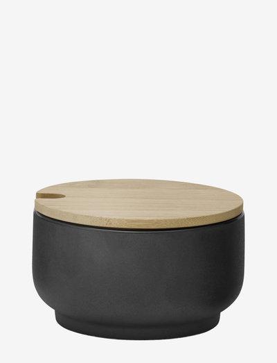Theo sugar bowl - 0.1 l. - sokerikulhot - black