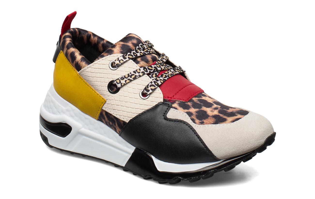 Steve Madden Cliff Sneaker (Black