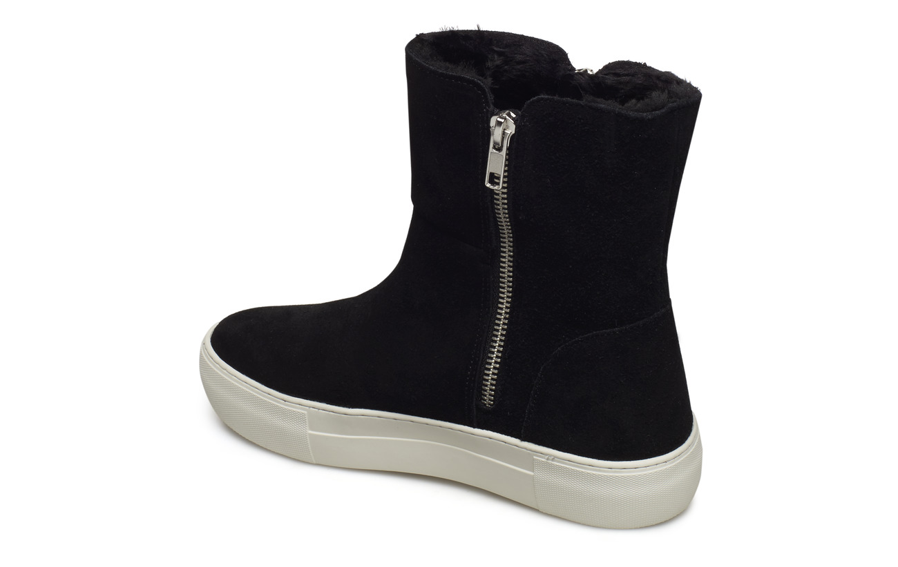 Suede Wedge Daim Extérieure Supérieure Steve Garrson Madden Doublure Intérieure Empeigne Man Made Sneaker Synthetic Black Semelle Intercalaire wE6A4XnAq0