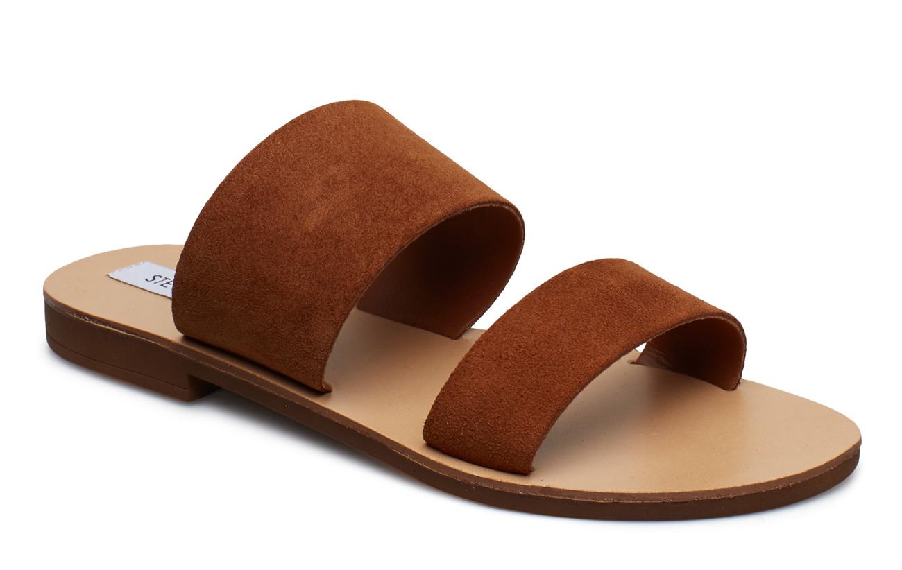 Steve Madden Native Sandal (no size 42) - CHESTNUT SUEDE