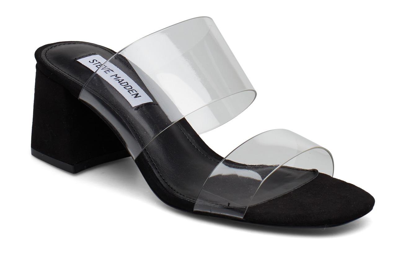 Steve Madden Clarity Sandal - BLACK