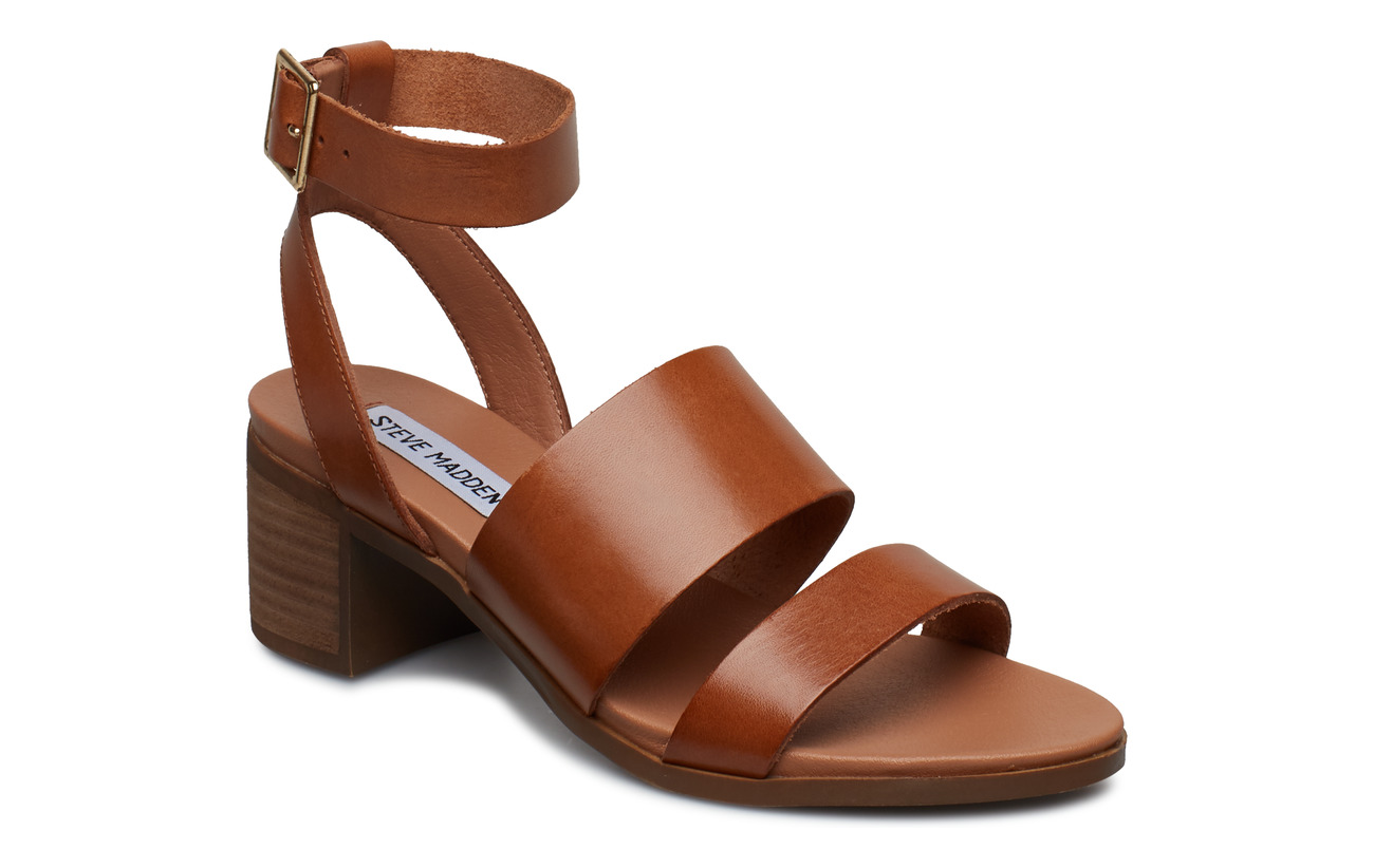 Steve Madden Alex Sandal - COGNAC LEATHER