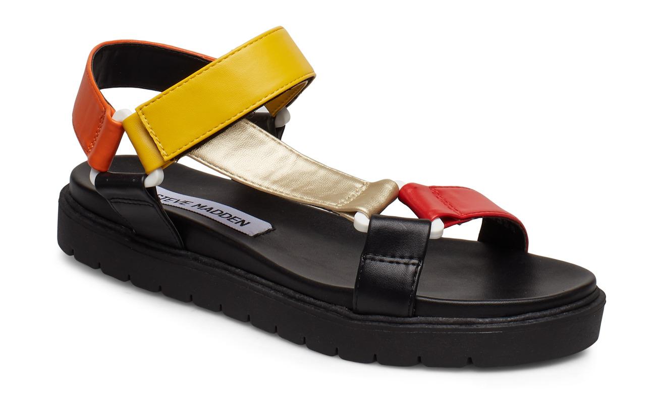 Steve Madden Duplow Sandal - BLACK MULTI