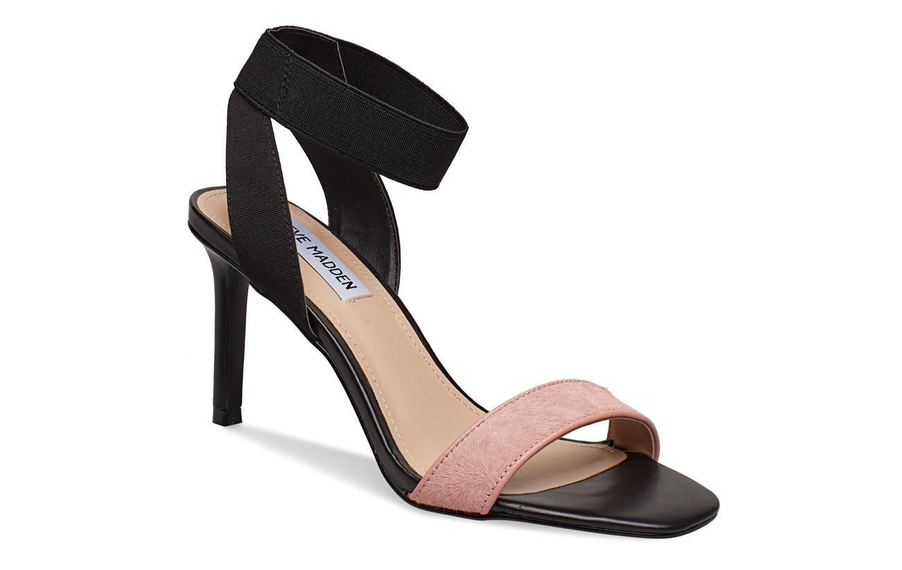 Steve Madden Fondu Sandal - BLACK/PINK