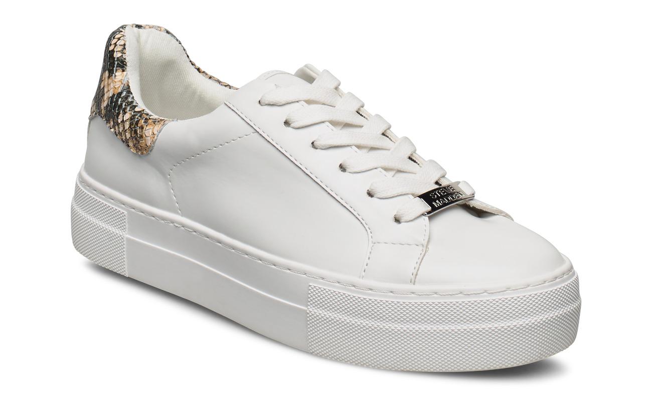 como el desayuno patrón Comprensión  Steve Madden Merger Sneaker (Tan Snake), (55 €) | Large selection of  outlet-styles | Booztlet.com
