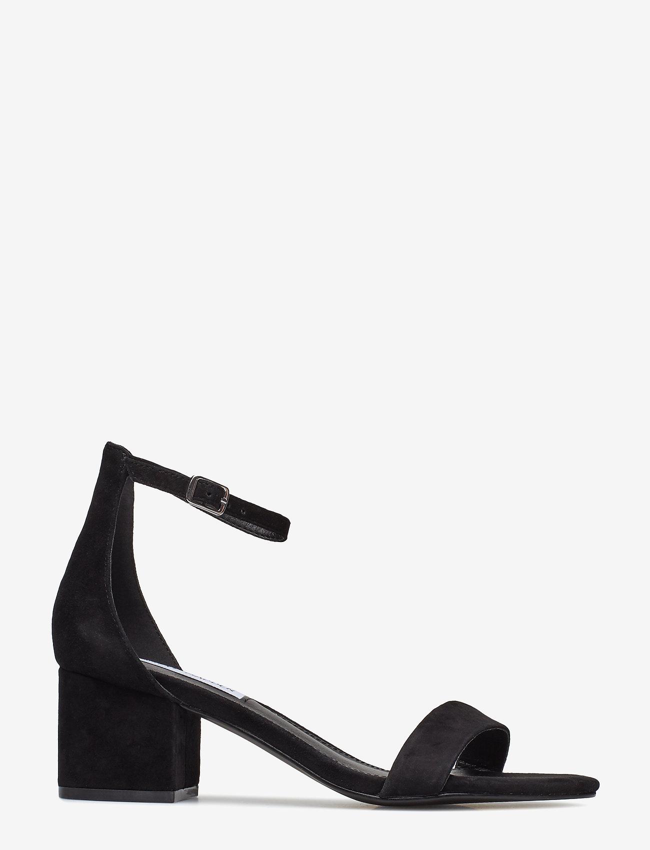 Steve Madden - Irenee Sandal - høyhælte sandaler - black suede