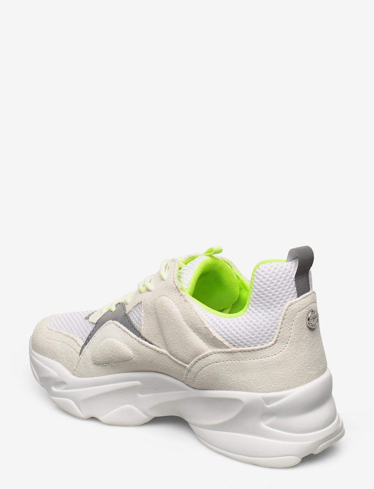 Movement Sneaker (White/ Yellow) - Steve Madden