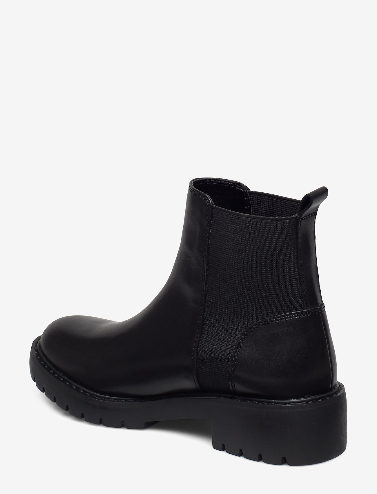 Gliding Bootie (Black Leather) - Steve Madden