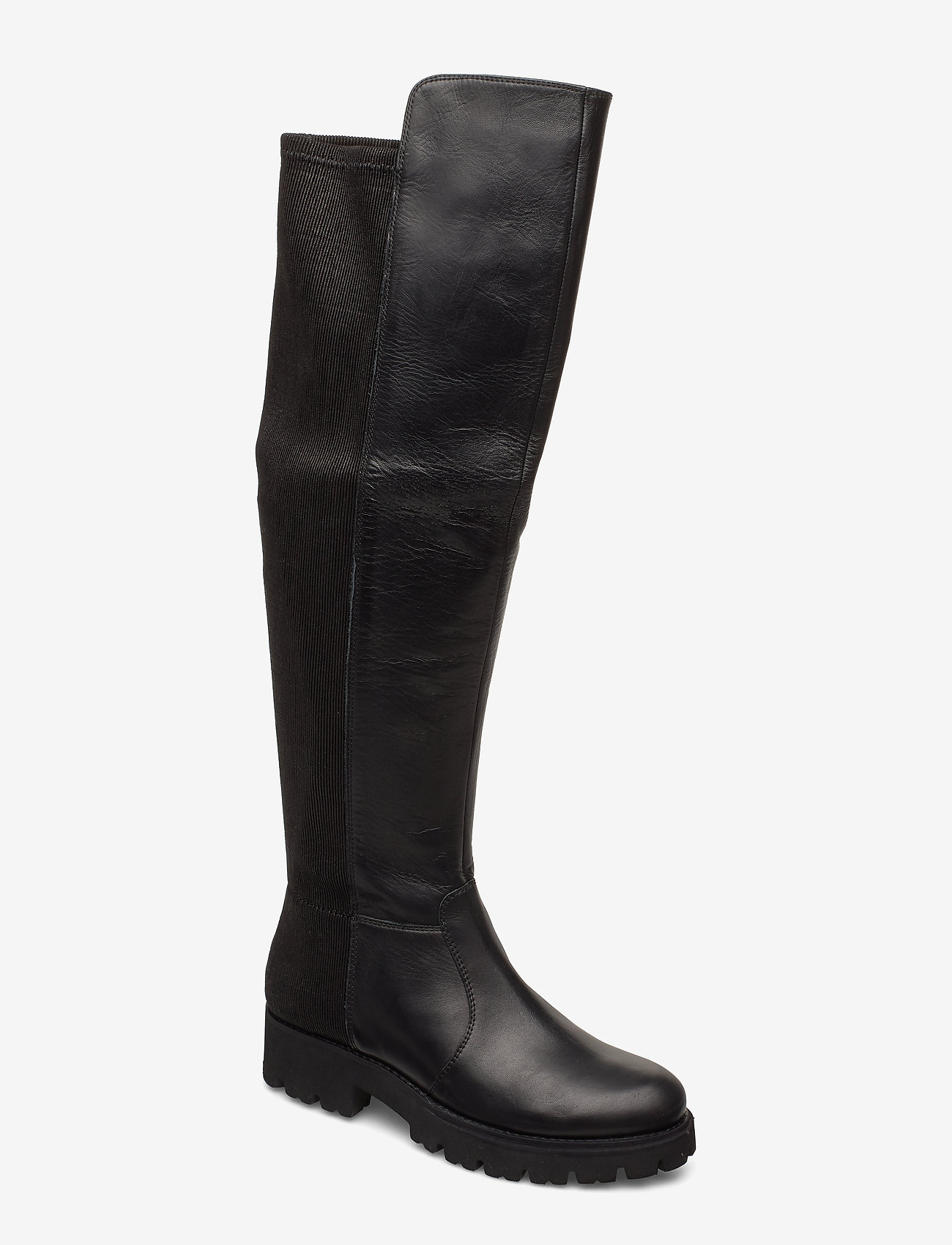 Steve Madden - Hilly Boot - lange laarzen - black leather - 0