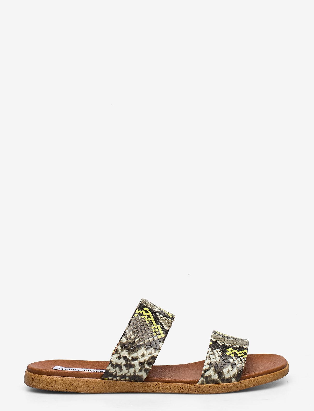 Steve Madden - Dual Sandal - płaskie sandały - gold snake - 1