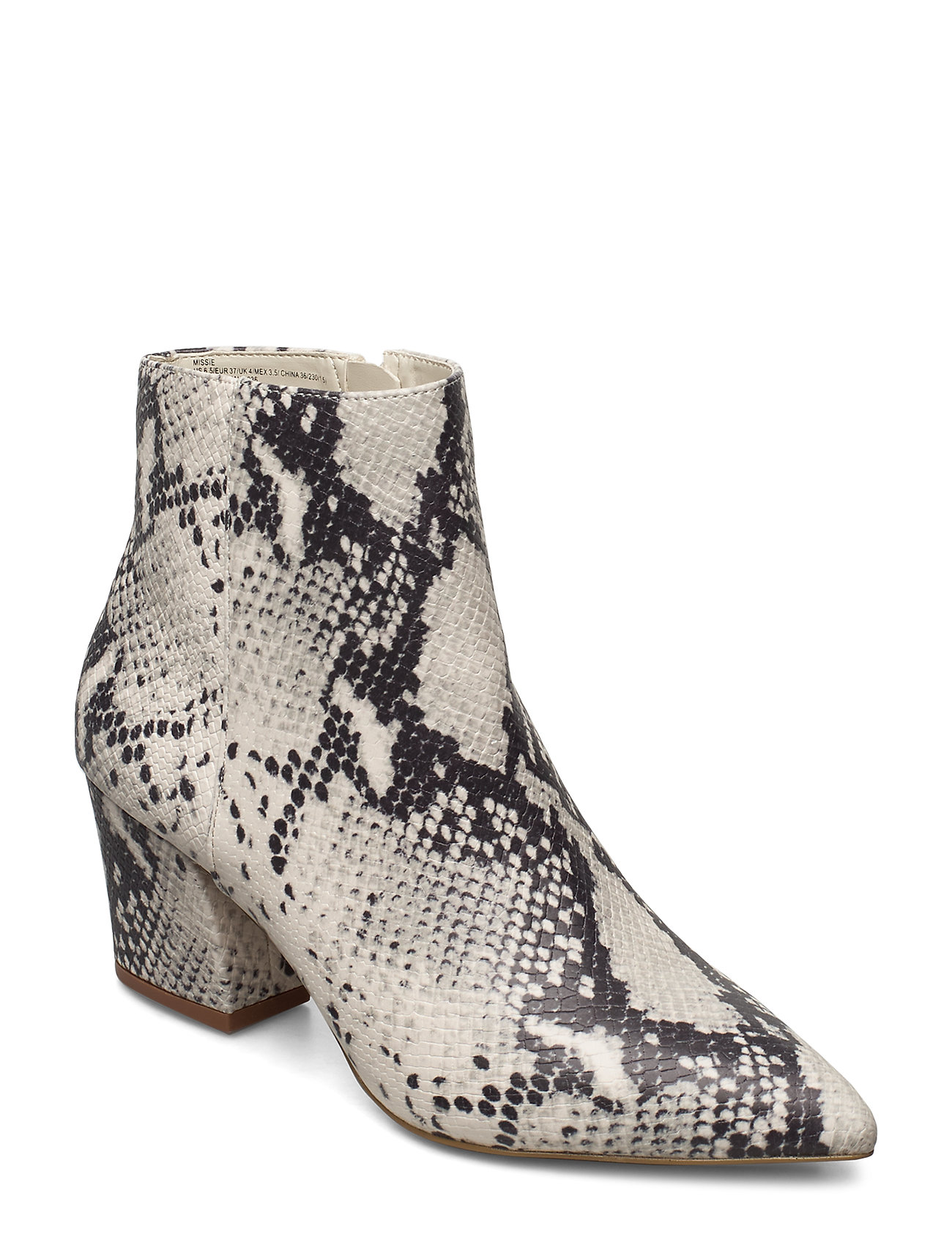 Image of Missie Bootie Shoes Boots Ankle Boots Ankle Boot - Heel Creme Steve Madden (3406241811)