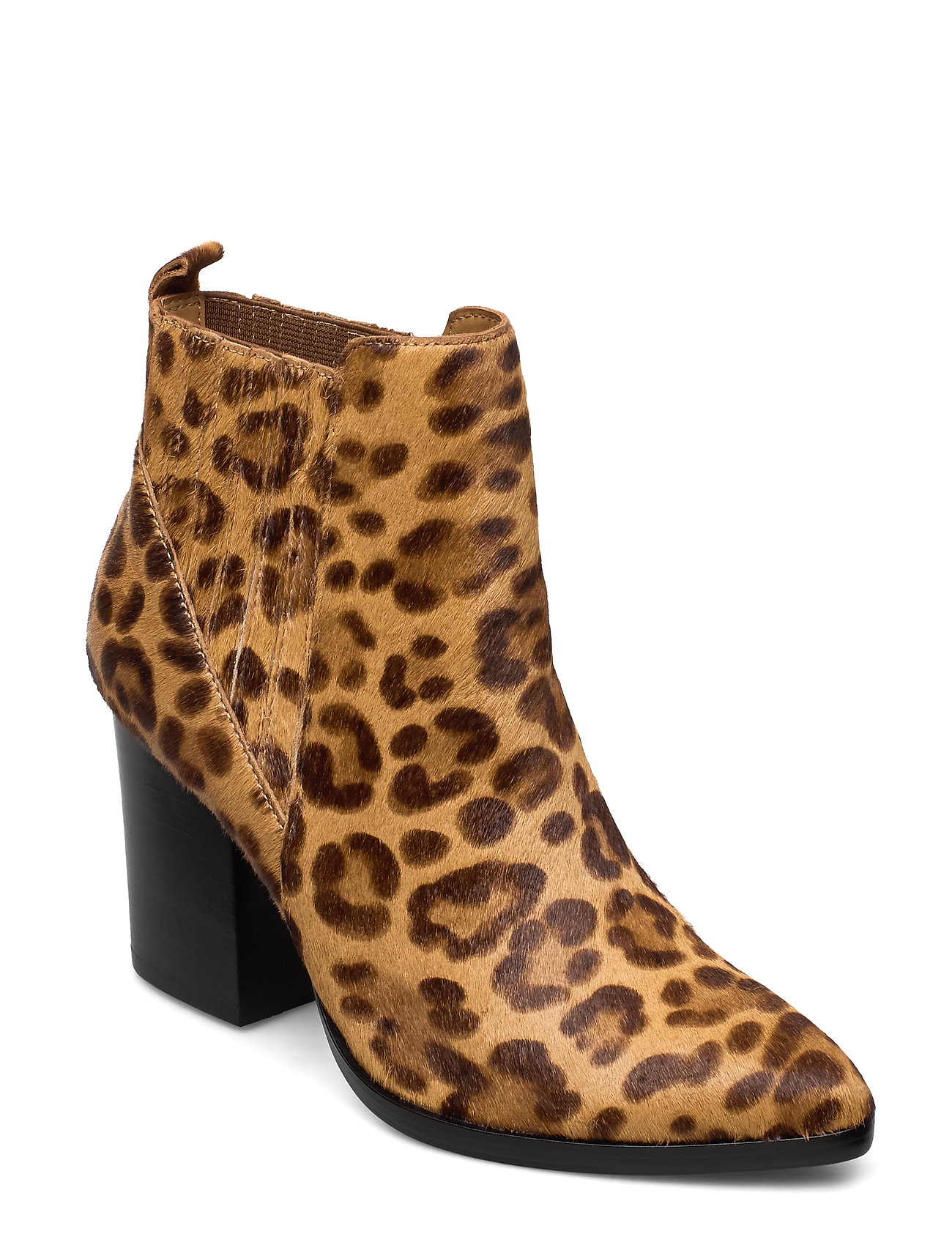 Image of Justina Bootie Shoes Boots Ankle Boots Ankle Boot - Heel Brun Steve Madden (3406241763)