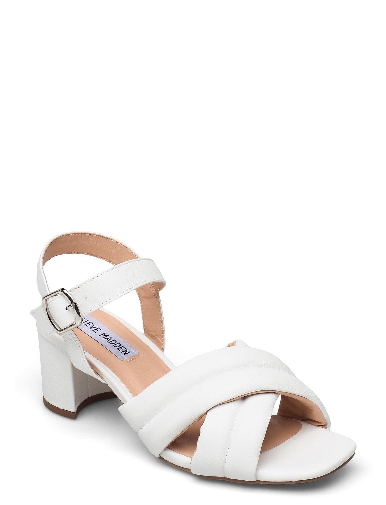 Keana Sandal Sandal Med Hæl Hvid Steve Madden