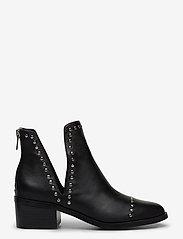 Steve Madden - Conspire - wysoki obcas - black leather - 1