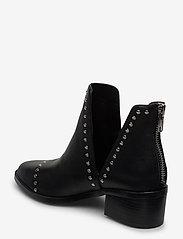 Steve Madden - Conspire - wysoki obcas - black leather - 2