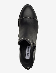 Steve Madden - Conspire - wysoki obcas - black leather - 3