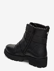 Steve Madden - Hoofy - niski obcas - black leather - 2