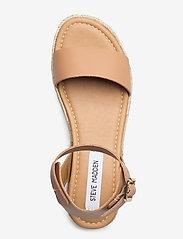 Steve Madden - Chaser Sandal (no size 42) - espadrilles met sleehak - natural leather - 3