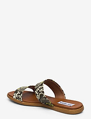Steve Madden - Dual Sandal - płaskie sandały - gold snake - 2