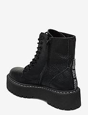 Steve Madden - Skylar Bootie - platte enkellaarsjes - black leather - 2