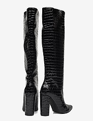 Steve Madden - Tamsin - lange laarzen - black croco - 4