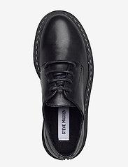 Steve Madden - Vlokke - snörskor - black leather - 3