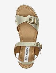 Steve Madden - Cam Sandal (no size 42) - flache espadrilles - gold leather - 3