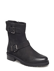 Worker Bootie - BLACK NUBUCK