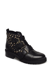 Sparkie Ankleboot - BLACK LEATHER