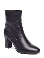 Avenue Ankleboot - BLACK LEATHER